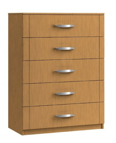 Capri 5 Drawer Midi Chest